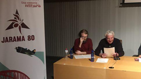 Intervención de Eddie O'Neill, Presidente de FIBI-Ireland en la I Semana de Memoria Democrática en Rivas Vaciamadrid